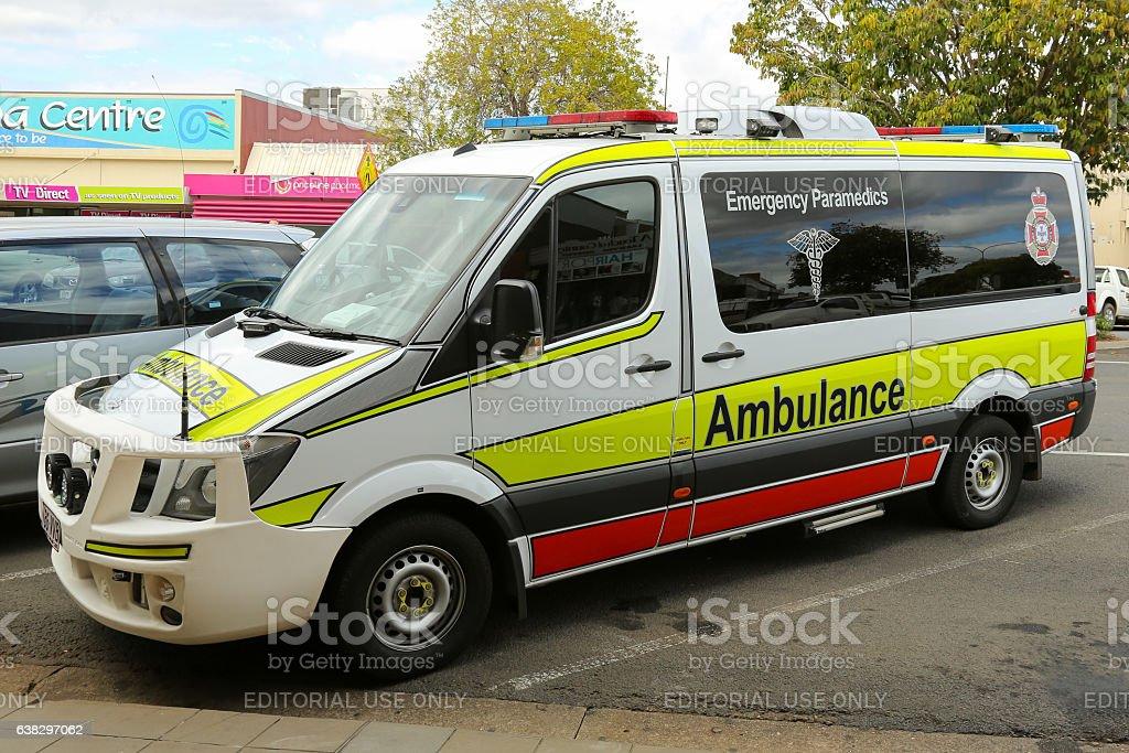 Australian Ambulance stock photo