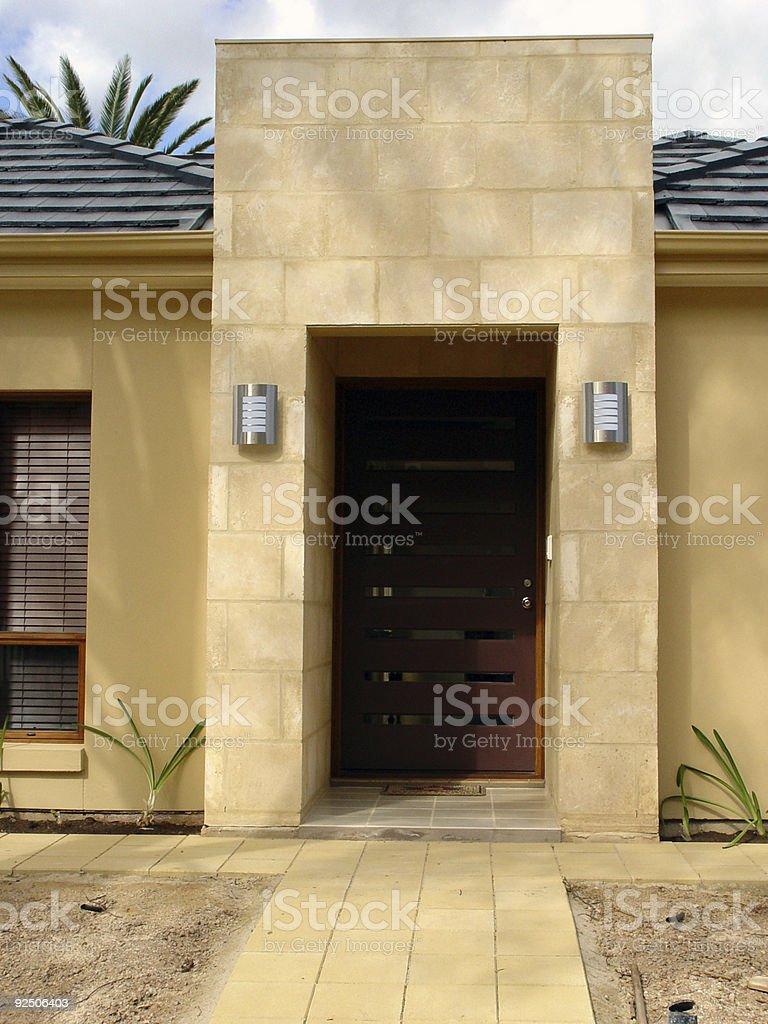 Australian architecture, modern royalty-free stock photo