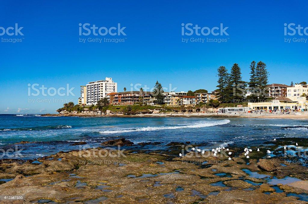Australian beach, Cronulla stock photo