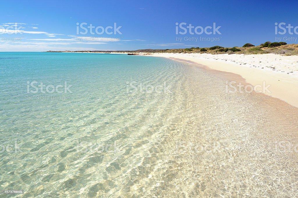 Australian Beach Paradise royalty-free stock photo