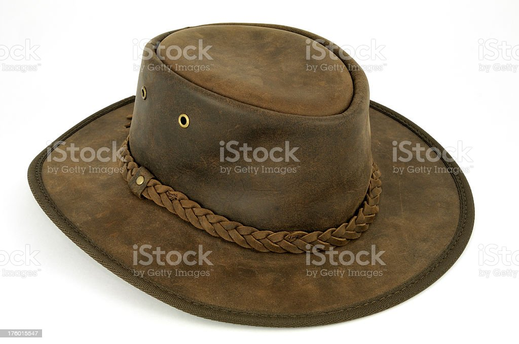 Australian Bush Hat stock photo