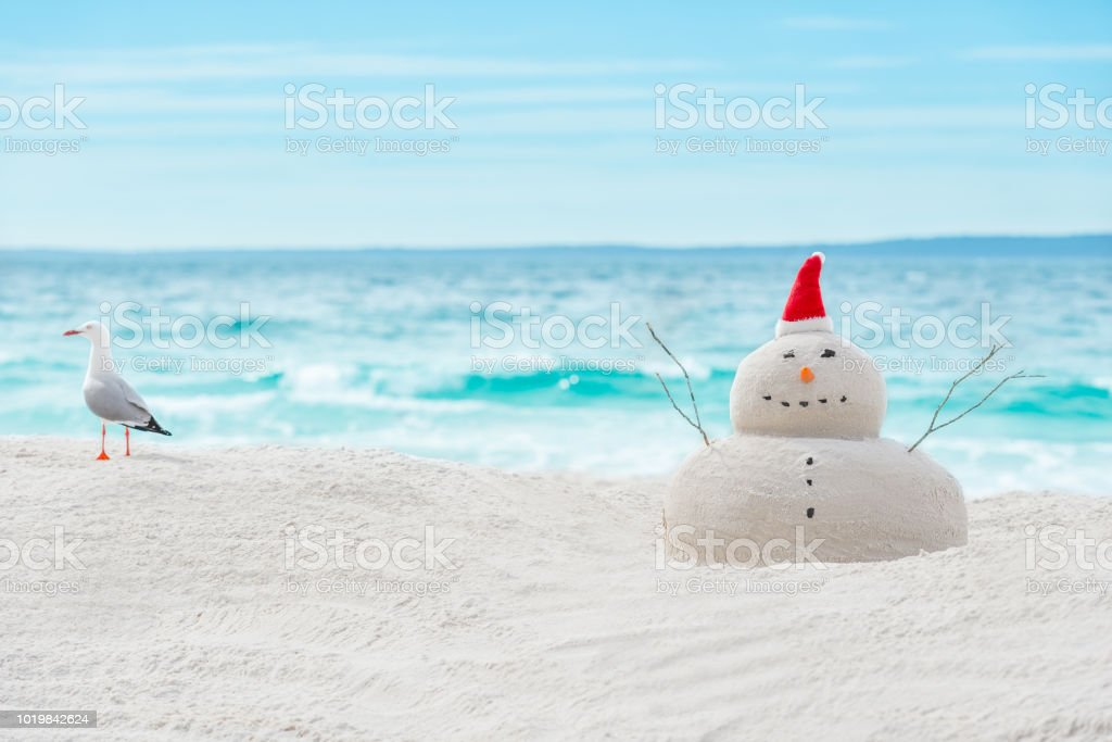 Australian Christmas Cards Free Download.Australian Christmas Sandman Stock Photo Download Image