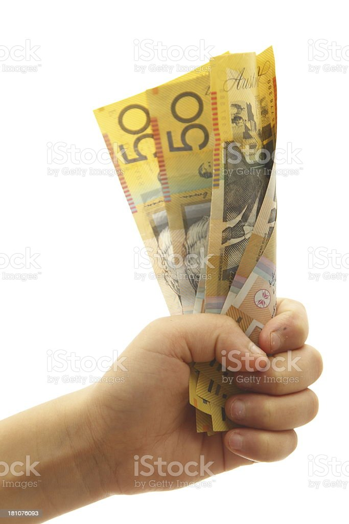 Australian Currency royalty-free stock photo