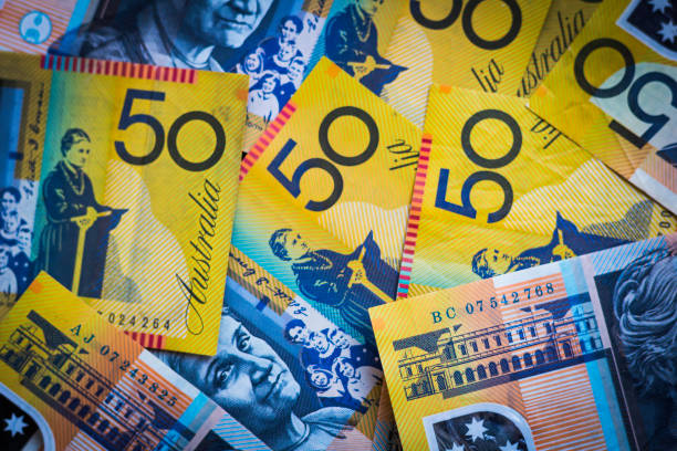 Australian Currency stock photo