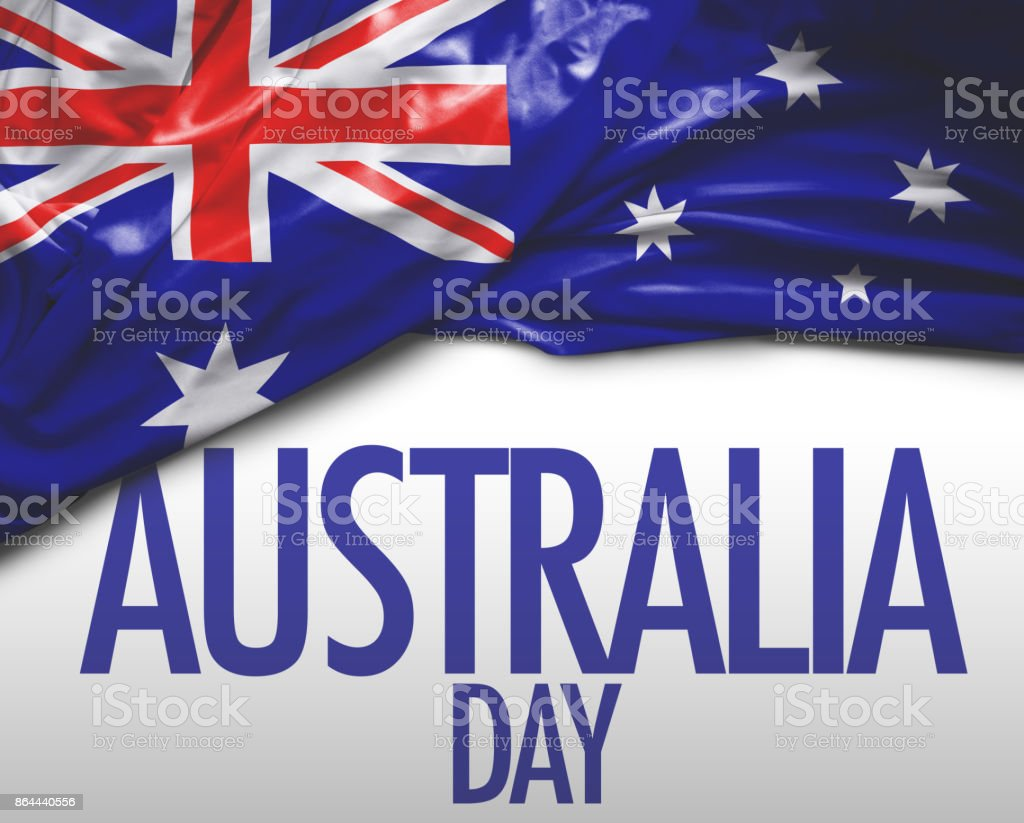Australian Day stock photo