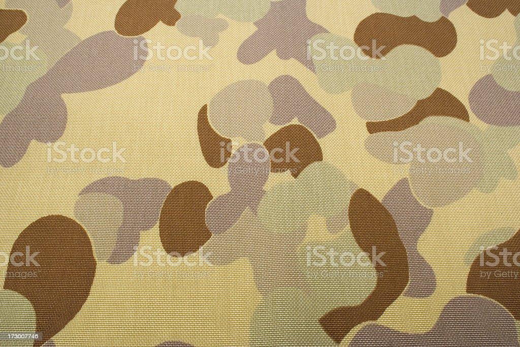 Australian desert camouflage pattern Auscam DPDU stock photo