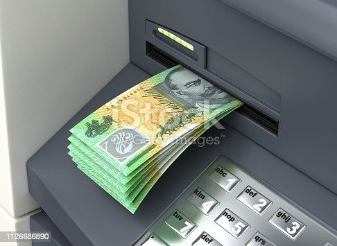 Withdrawal Australian Dollar From The ATM