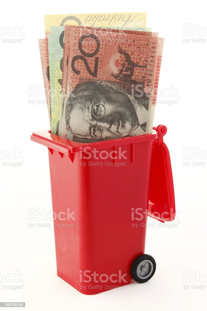 Australian Dollar stock photo