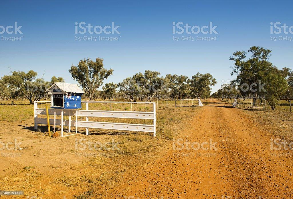 Australian Driveway stock photo
