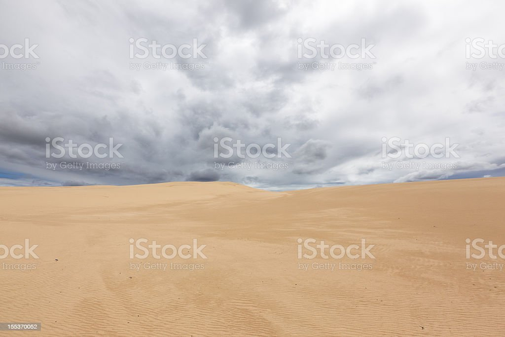 Australian East coast Sand Dunes royalty-free stock photo