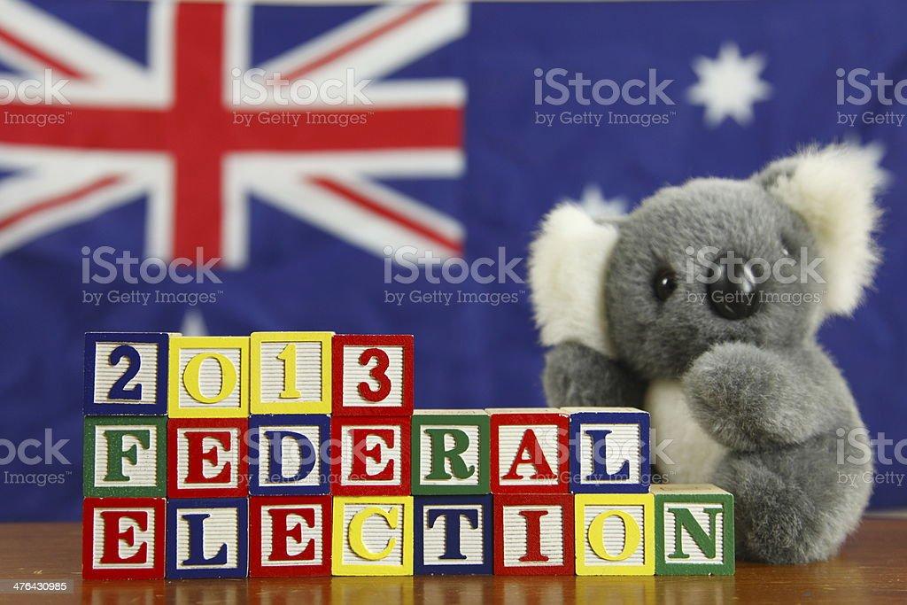 Australian Election royalty-free stock photo