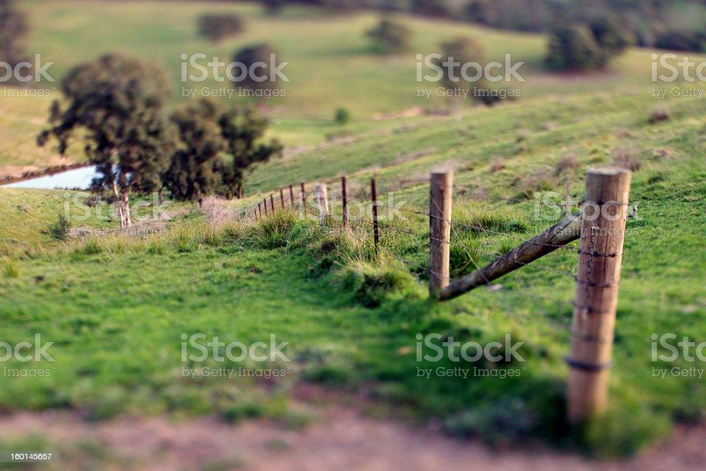 Australian Farm stock photo