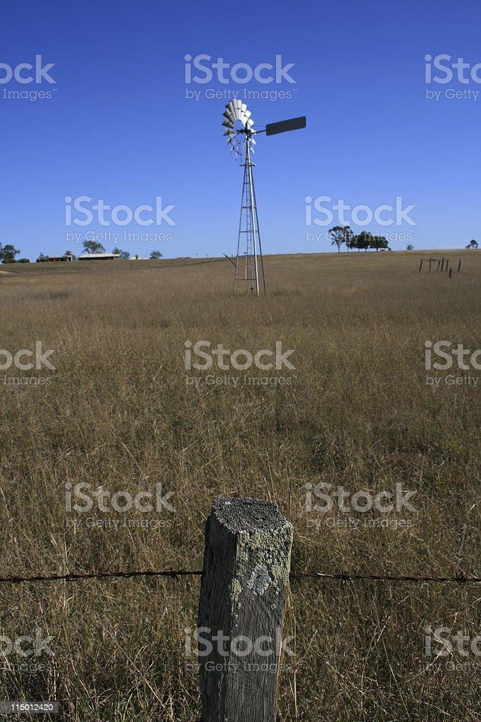 Australian Farm Scene royalty-free stock photo
