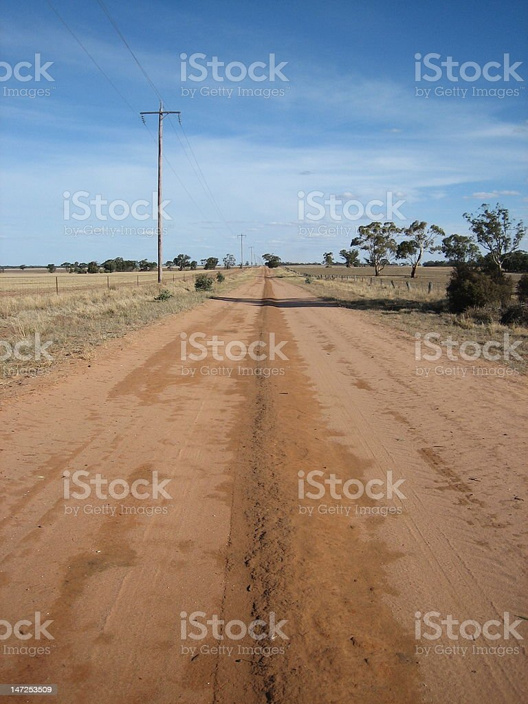 Australian Farmland royalty-free stock photo