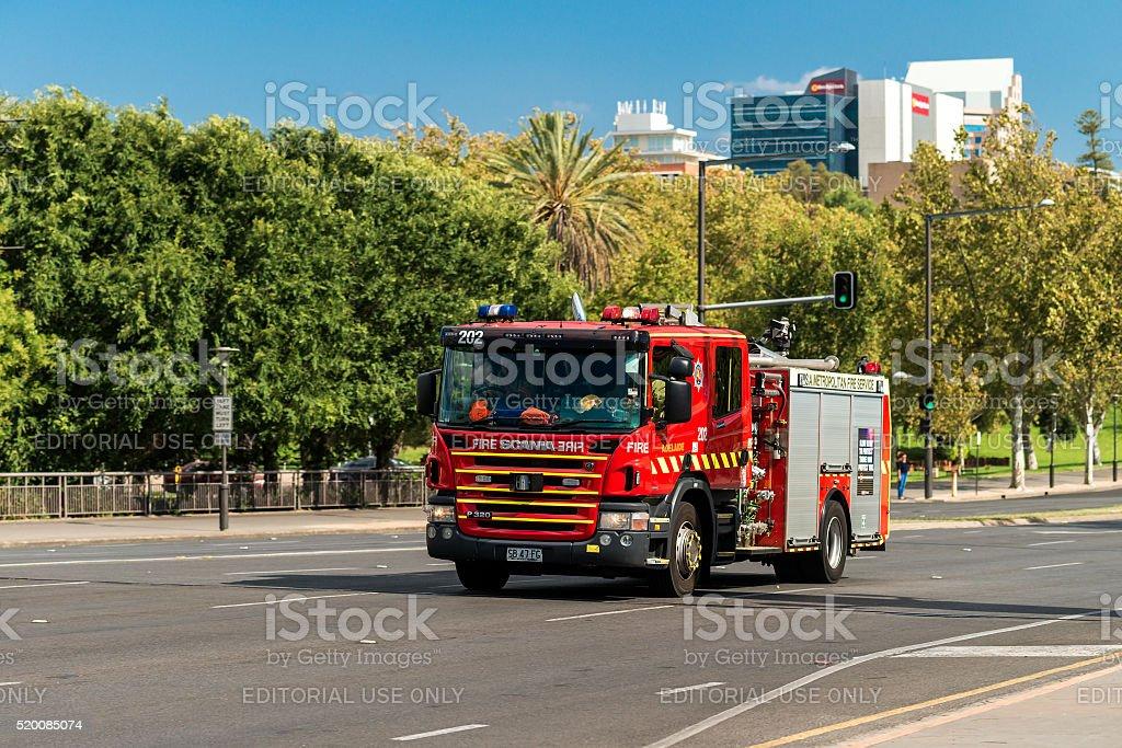 Australiano camión de bomberos - foto de stock