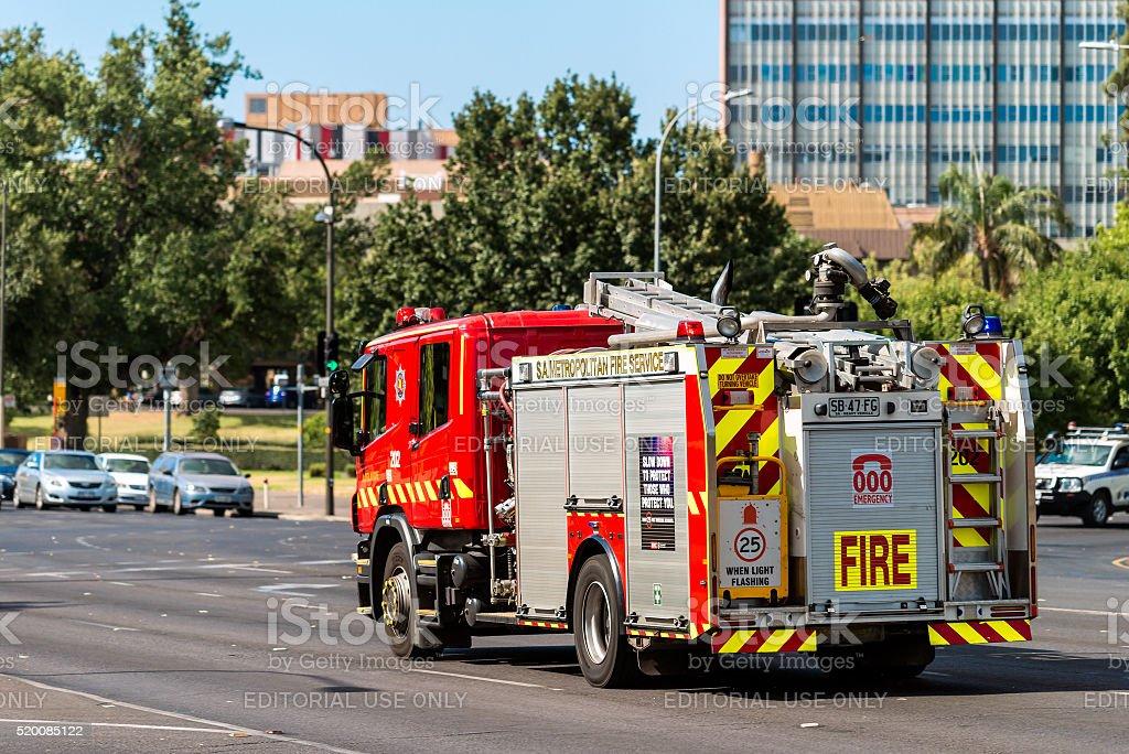 Australian Fire Truck stock photo