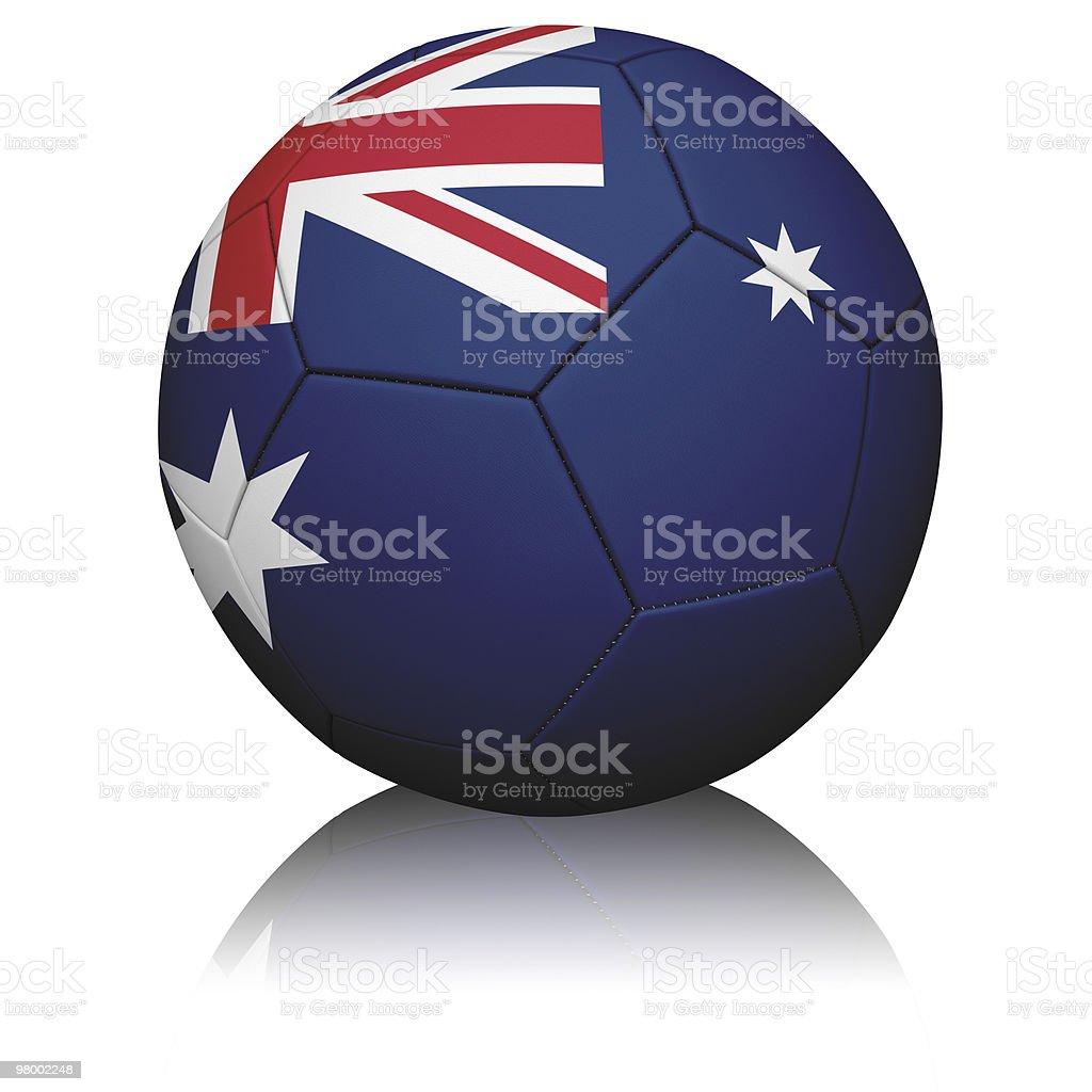 Australian Flag Football royalty-free stock photo