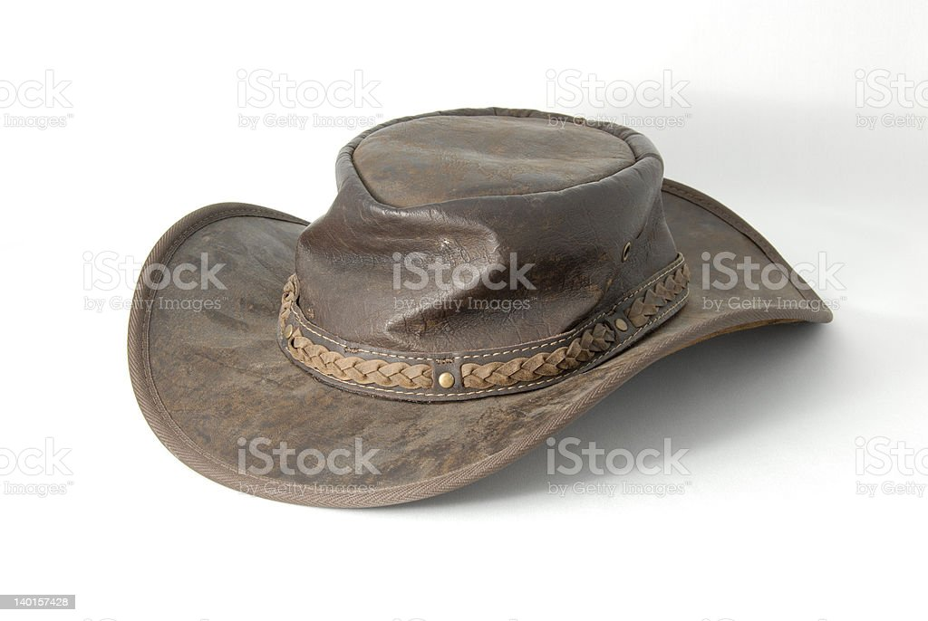 Australian Hat stock photo