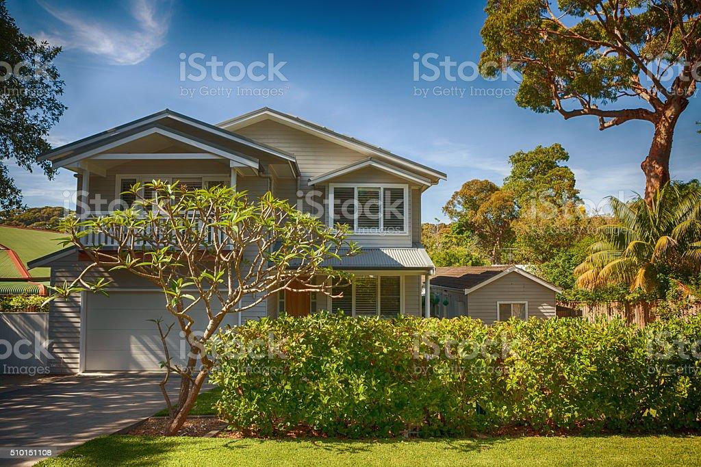 australian home stock photo