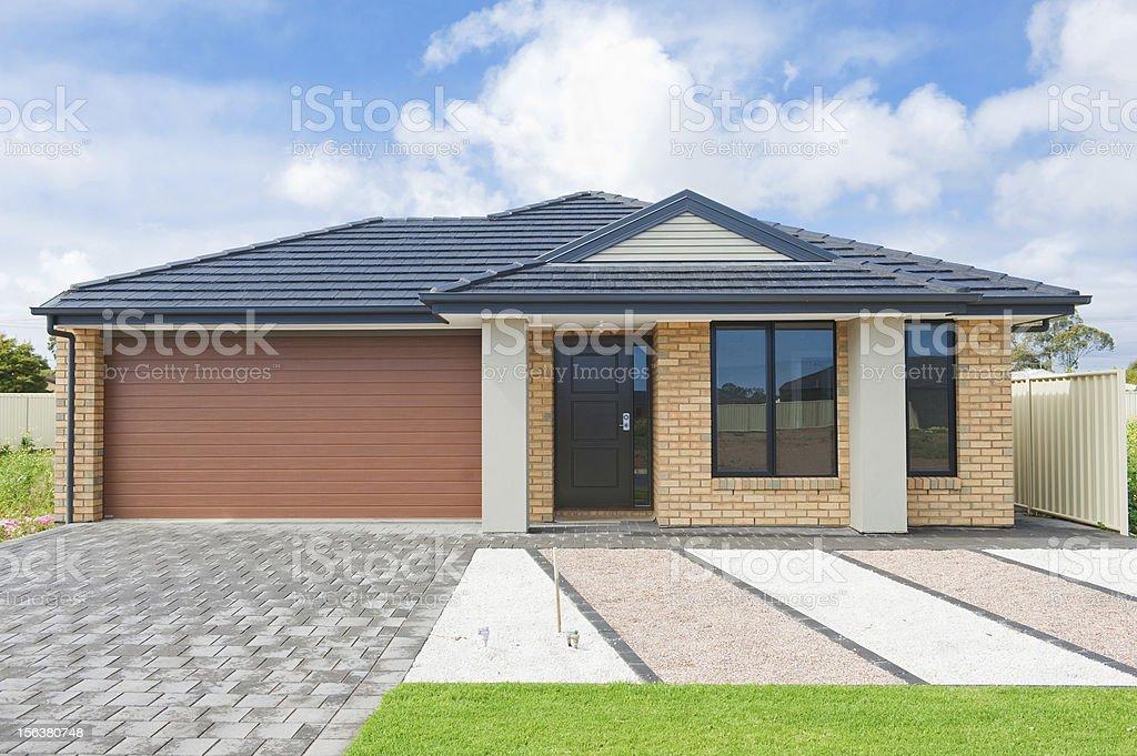australian house stock photo
