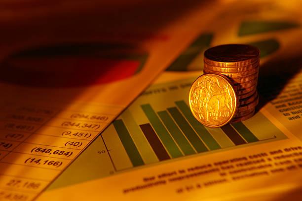 Australian Investments stock photo