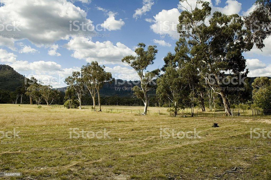 Australian land royalty-free stock photo
