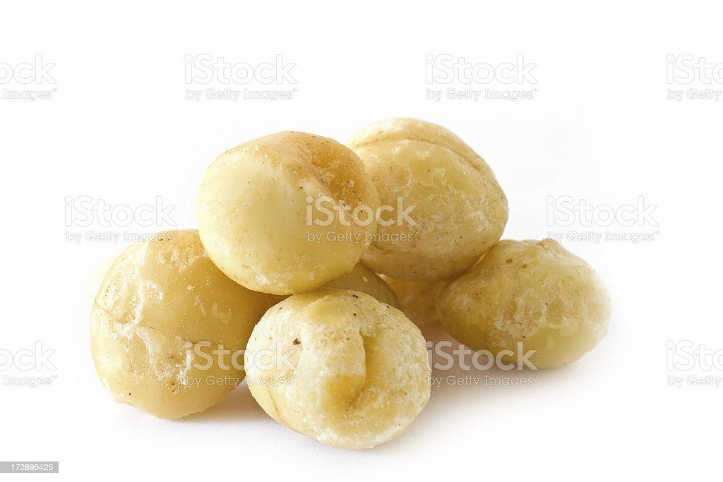 Australian Macadamia Nuts royalty-free stock photo