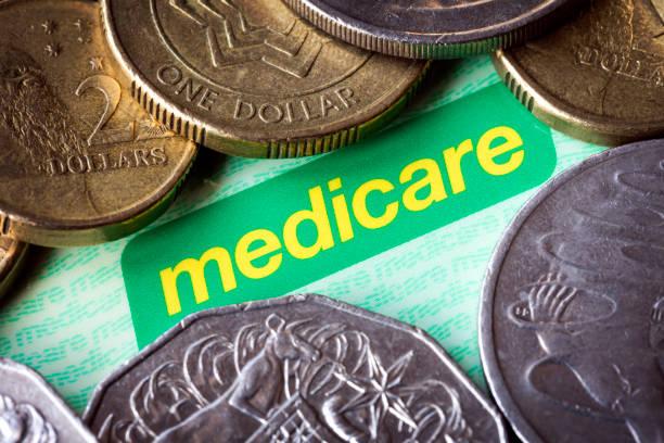 Australischen Medicare Karte und Geld – Foto