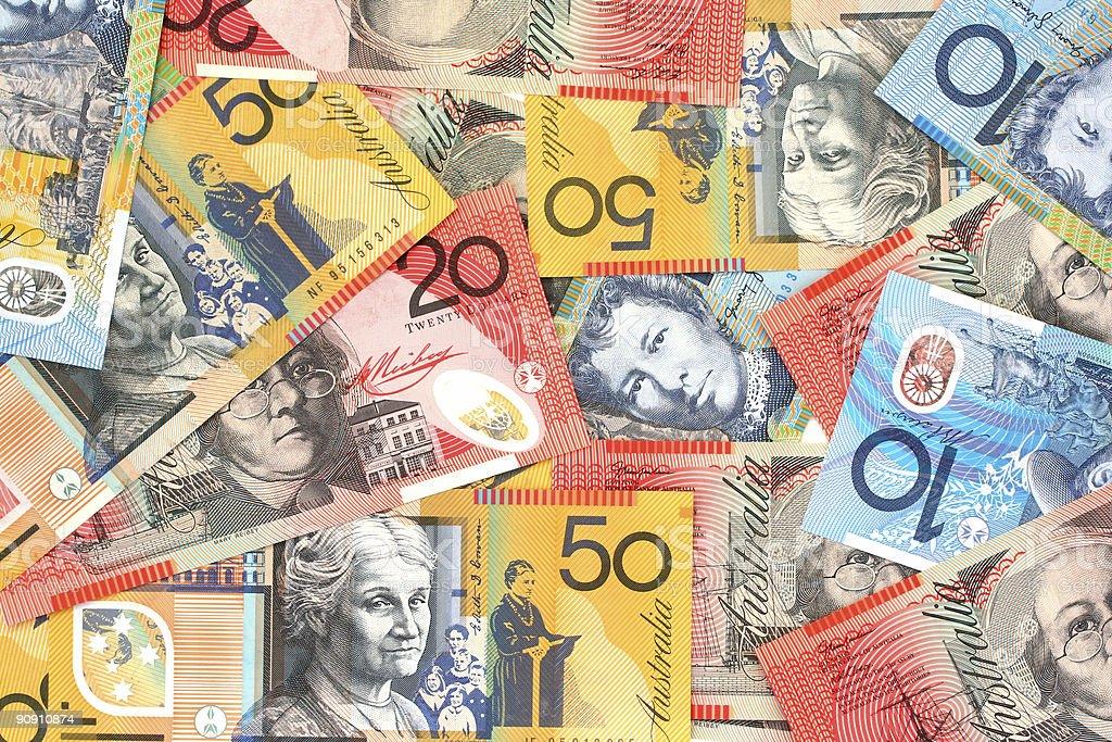 Australian Money stock photo