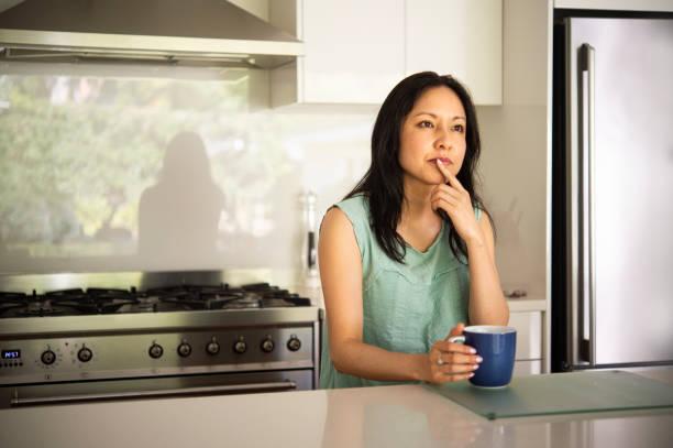 Australische Mutter Frühstückszeit – Foto