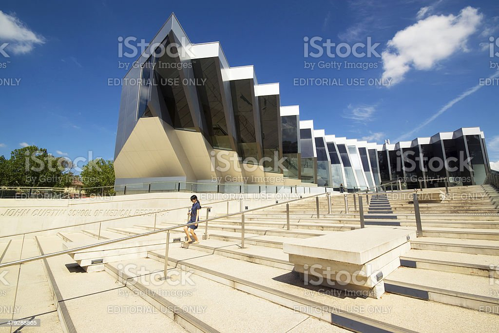Australian National University stock photo