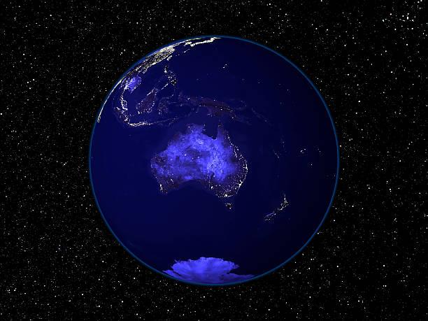Australian Night stock photo