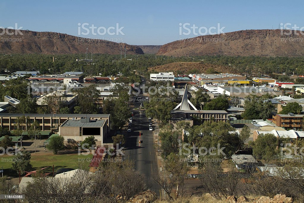 Australien, NT, Alice Springs, stock photo