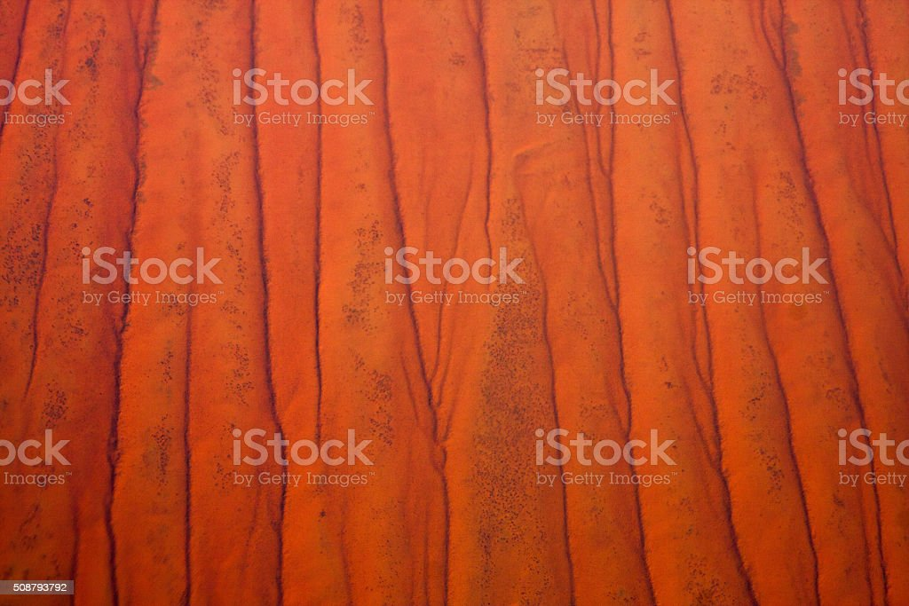 Australian Outback, aerial stock photo