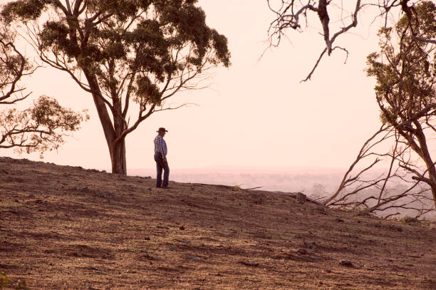 Australische Outback Bauer – Foto