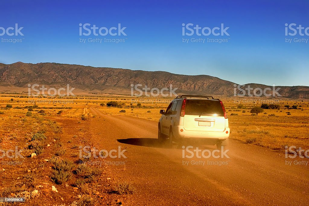 Australian Outback - Offroad royalty-free stock photo