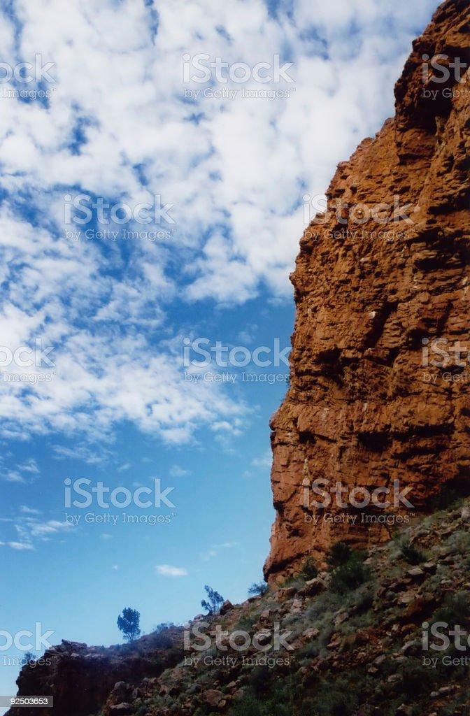 Australian Outback royalty-free stock photo