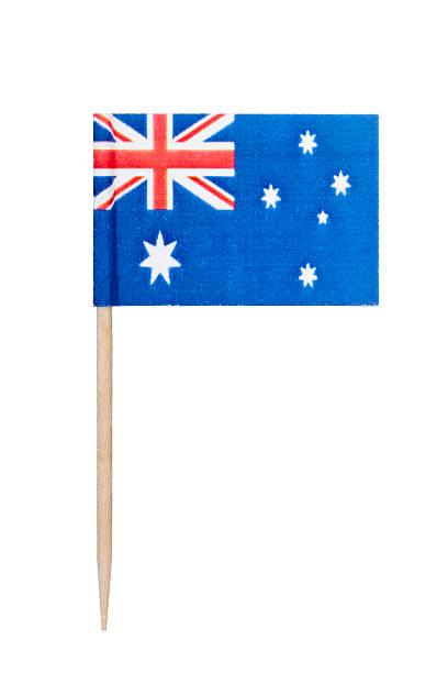 Australian paper flag foto