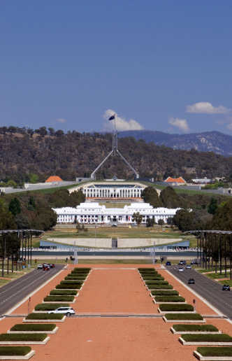 Australian Parliament House Stock Photo - Download Image Now - iStock