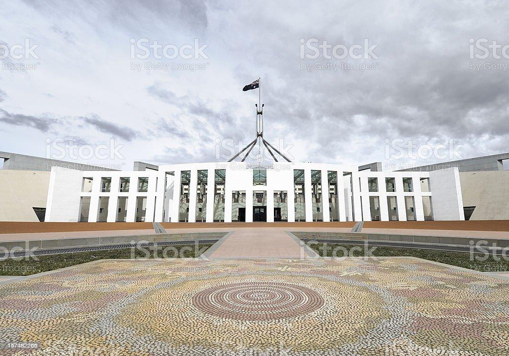 Australian Parliament royalty-free stock photo