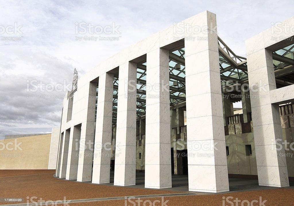 Australian Parliament stock photo