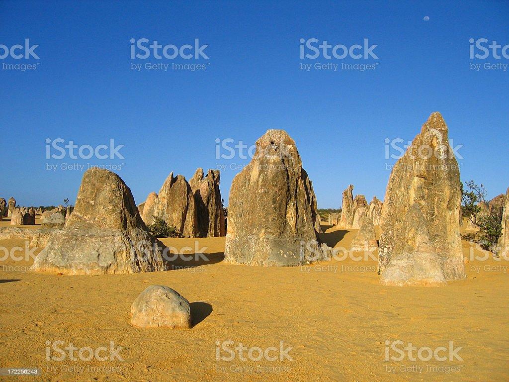 Australian Pinnacles royalty-free stock photo