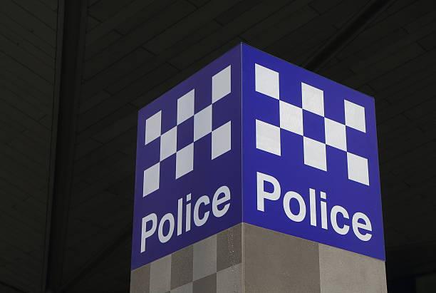 Australian Police stock photo