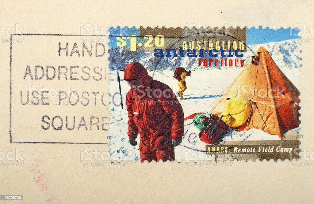Australian postage stamp royalty-free stock photo