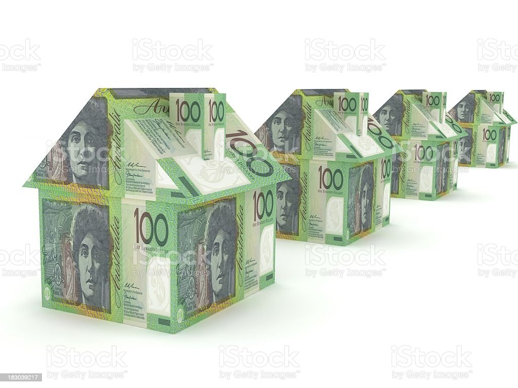 Australian Real Estate royalty-free stock photo