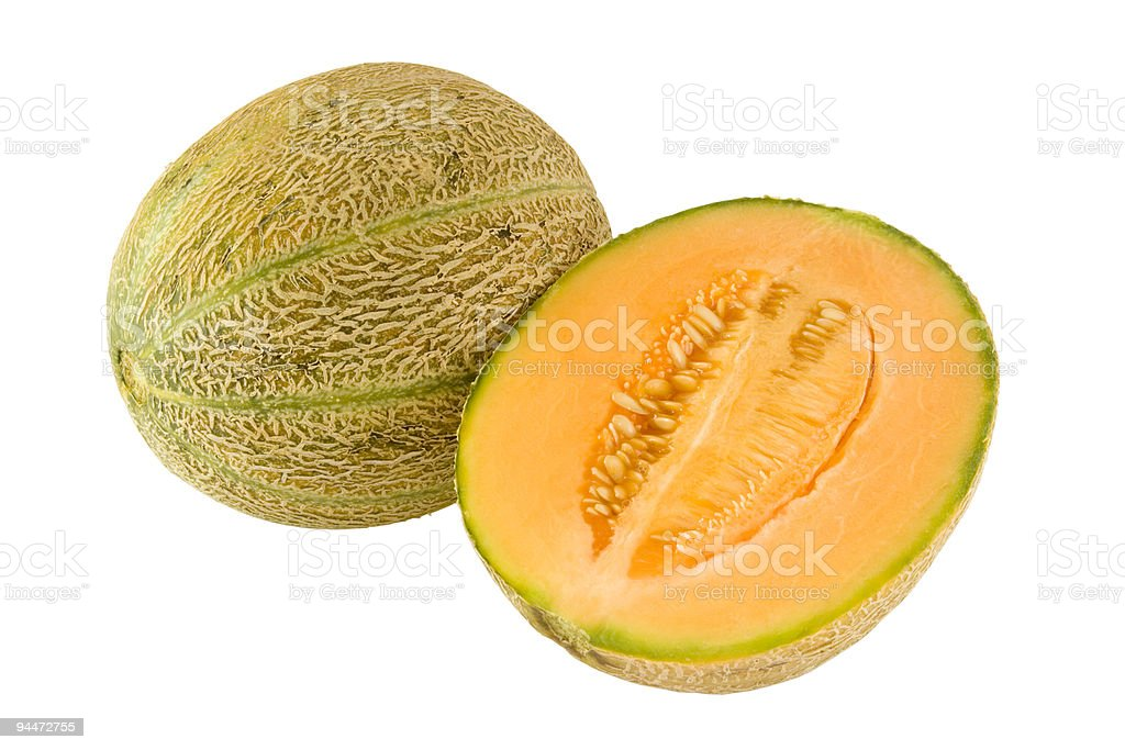 Cantaloupe Rockmelon – Rockmelons have light brown skin and orange flesh.