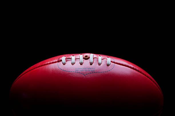 Australian Rules Football AFL Ball stock photo