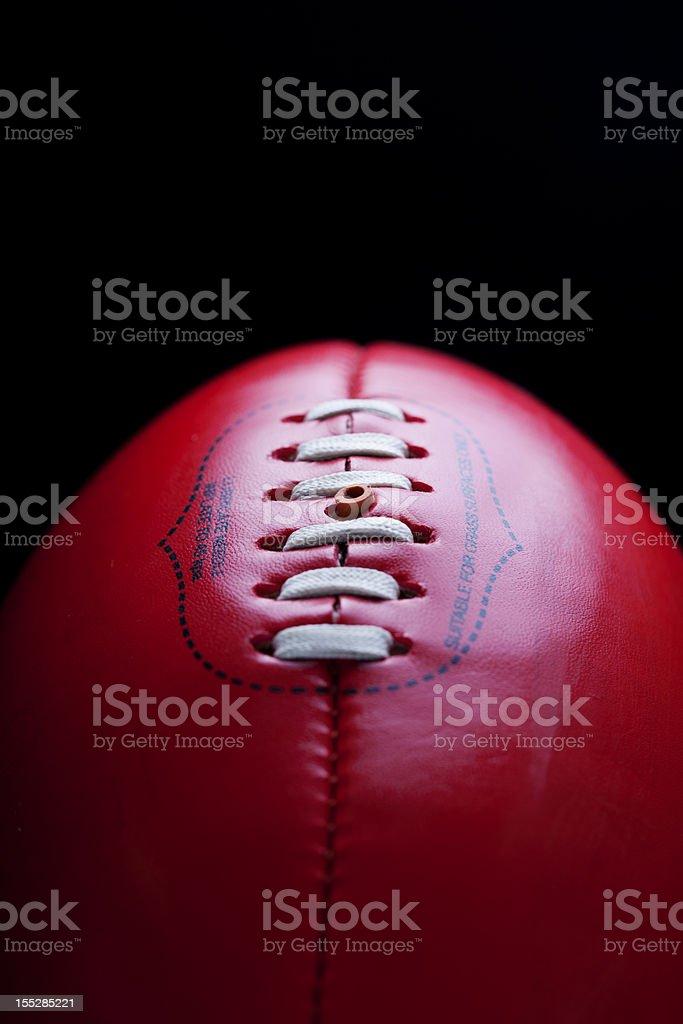 Australian Rules Football AFL Ball royalty-free stock photo