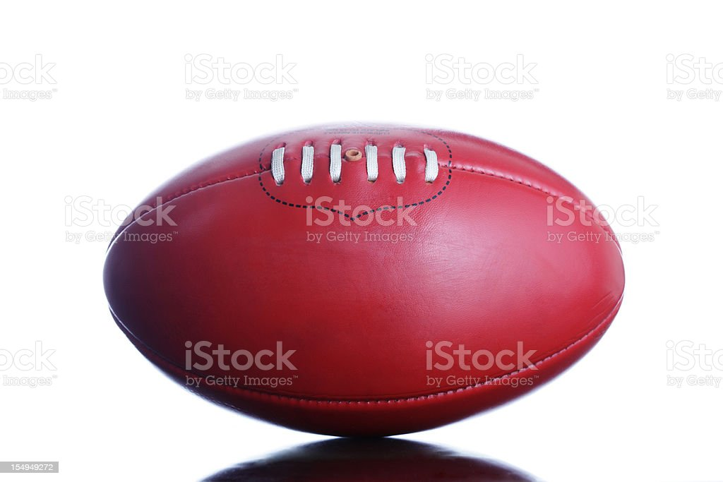 Australian Rules Football royalty-free stock photo