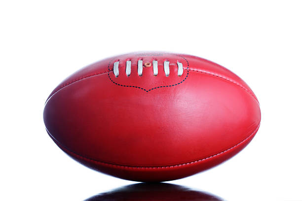 Australian Rules Football stock photo